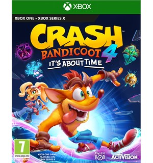 Crash Bandicoot 4 Its About Time Xbox Xbox One